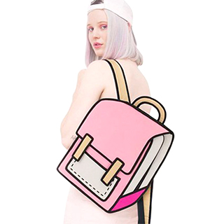 """2D"" Backpack"