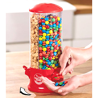 3-Way Personal Candy/Snack Dispenser