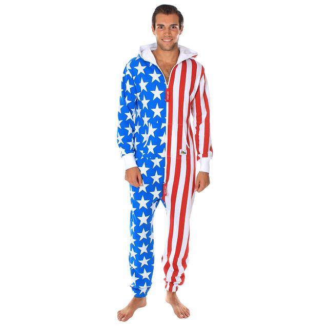 American Flag Jumpsuit/Onesie