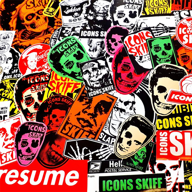 Assorted Punk Stickers