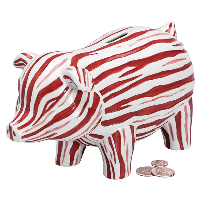 Bacon Piggy Bank