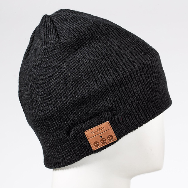 Beanie with Built-In Bluetooth Headset