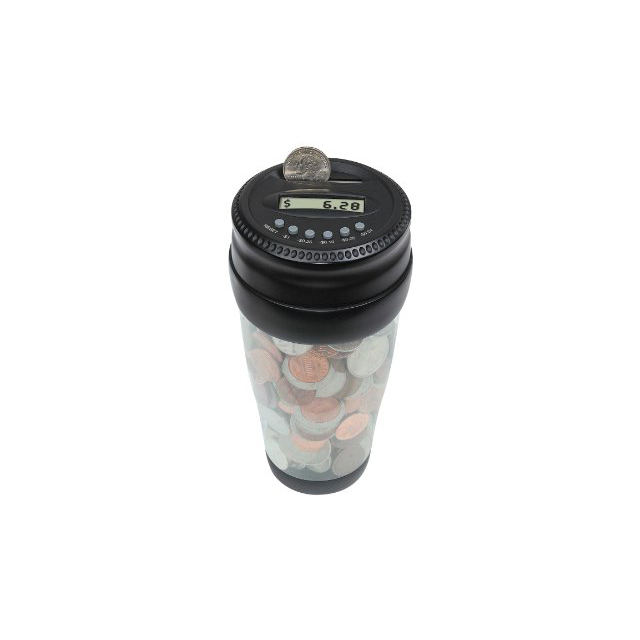 Coin-Counting Change Cup
