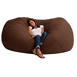 "Extra EXTRA Large Memory Foam ""Bean"" Bag"