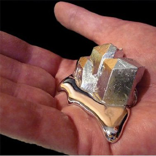 "Gallium: The ""Melt in Your Hand"" Metal"