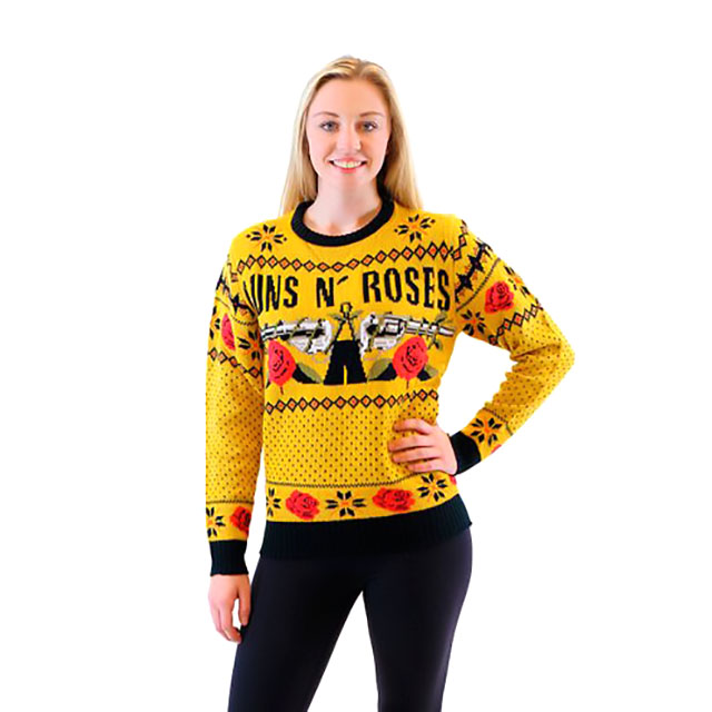 guns n roses sweater - Band Christmas Sweaters