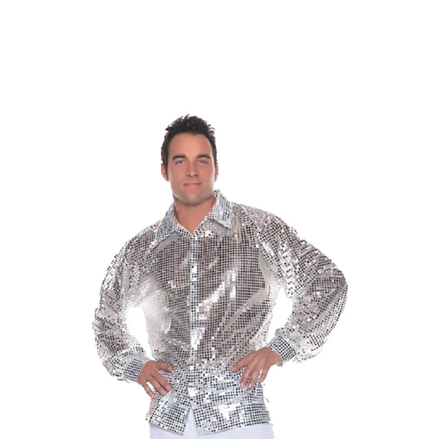 Highly Reflective Sequin Shirt