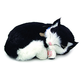Lifelike Sleeping Kitten electronic pet