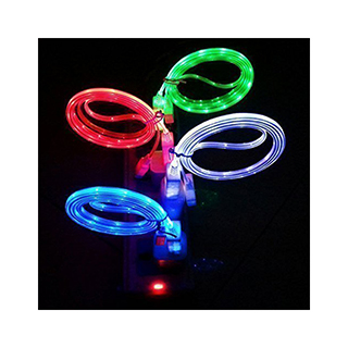Light-Up LED iPhone Charger Cables