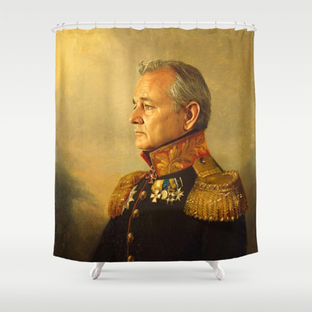 Majestic Bill Murray Shower Curtain