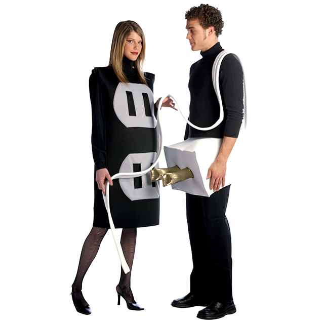 Naughty Plug and Outlet Costumes