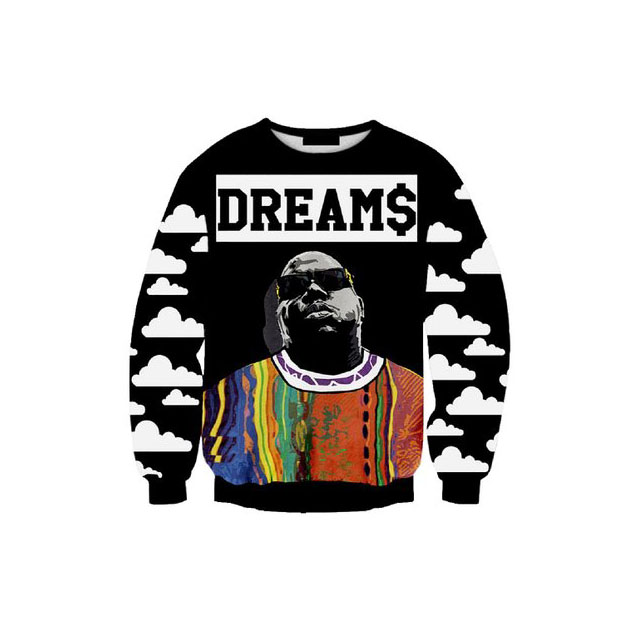 notorious big sweater