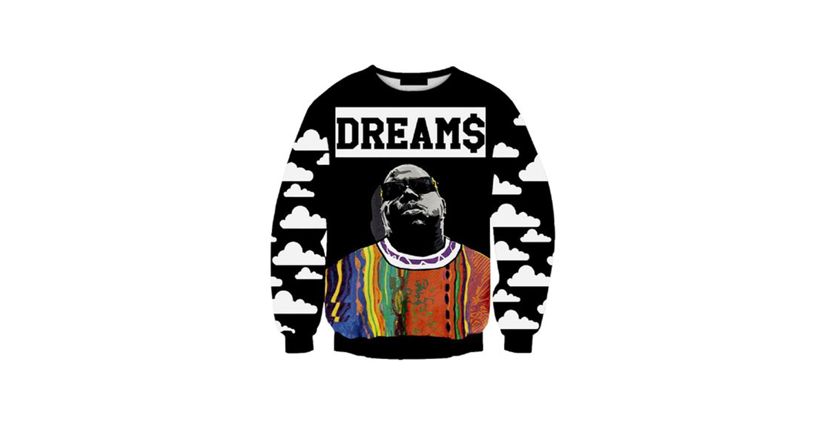 notorious big sweater drunkmall