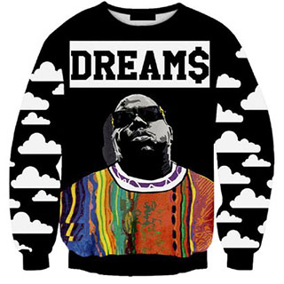 Notorious B.I.G. sweater