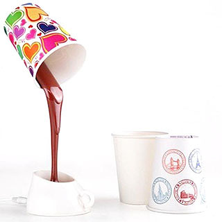 Optical Illusion Coffee Cup LED Lamp