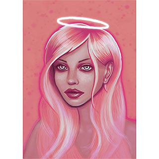 Pink Angel artwork
