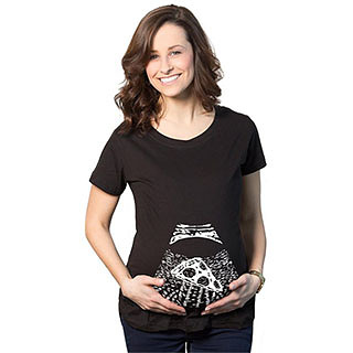 Pizza Baby Maternity Shirt