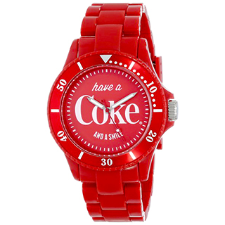 Red Coca-Cola watch