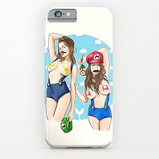 Sexy Super Maria and Louise phone case