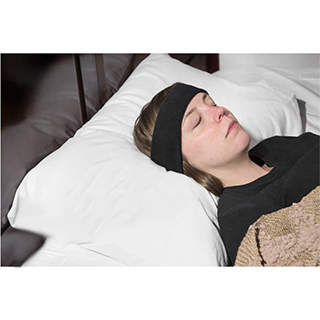 SleepPhones: Headphones in a Headband