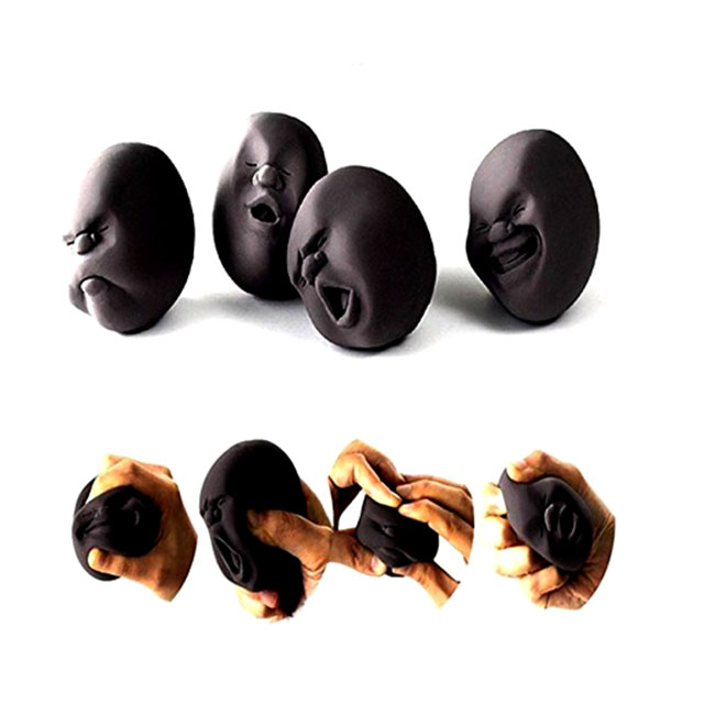 Stress Balls with Super Annoying Faces
