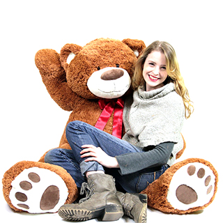Super-Sized Teddy Bear