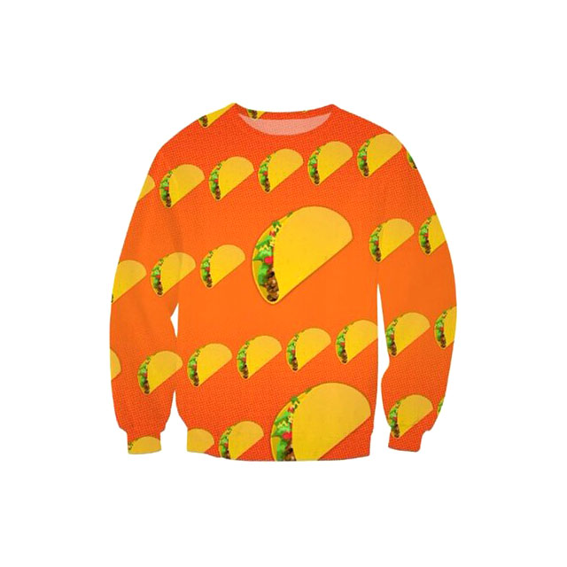 Taco Emoji Sweater