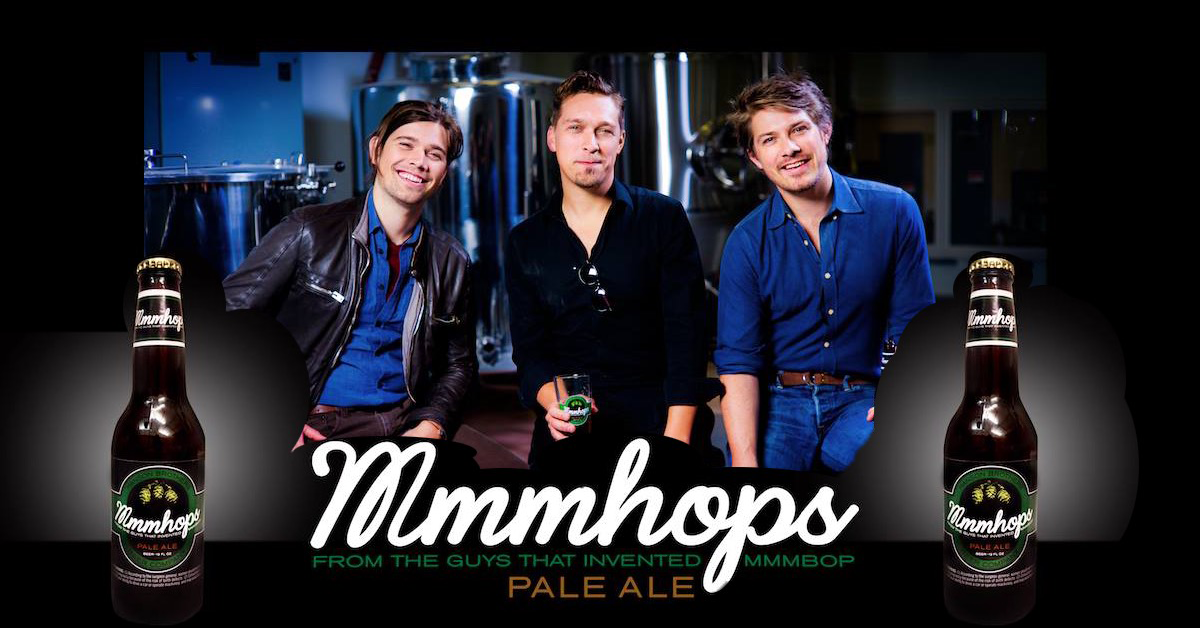 The Hanson Brothers Now Brew Their Own Beer It Is Called