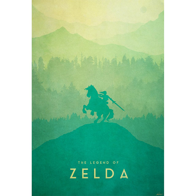 The Mists of Hyrule canvas print