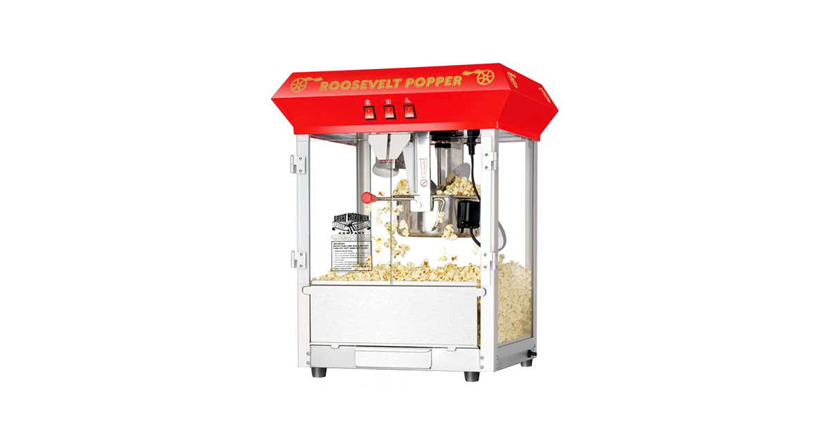 theatre style popcorn machine