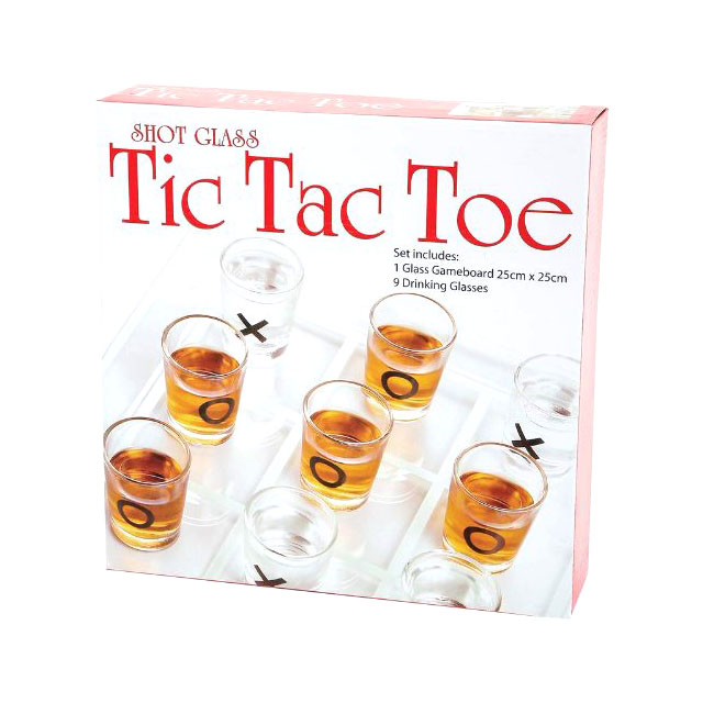 Tic Tac Bro shots game