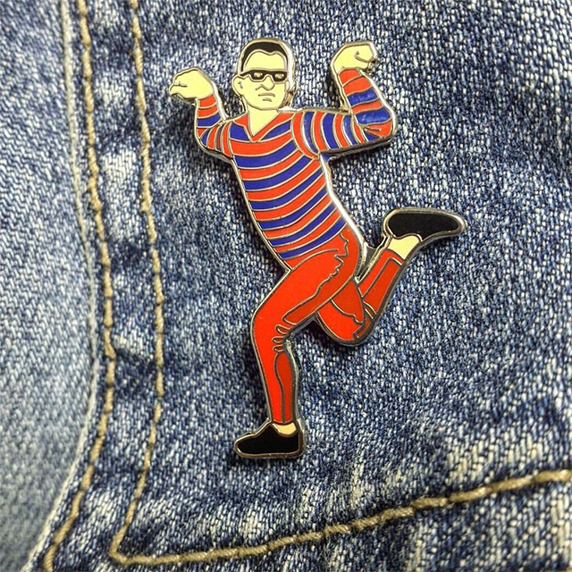 artie from pete and pete lapel pin drunkmall