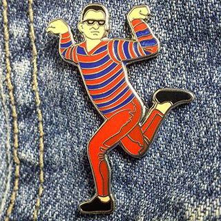 Artie (from Pete and Pete) lapel pin