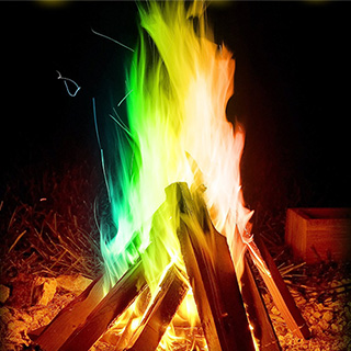 Colorful Campfire for Wizards