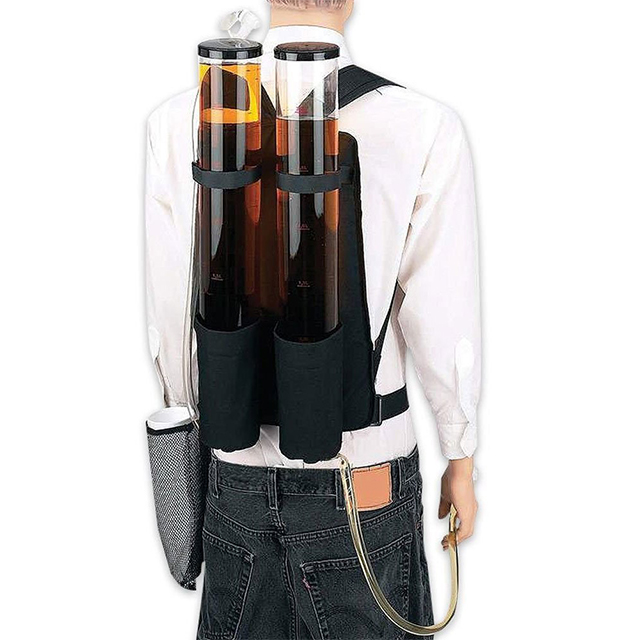 Double-Tank Beverage Backpack