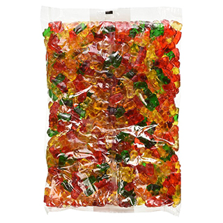 Five Pound Bag of Gummy Bears