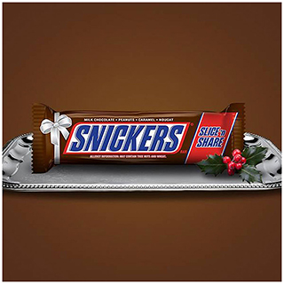 One Pound Snickers Bar