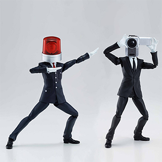 Siren Head and Camera Head Figures