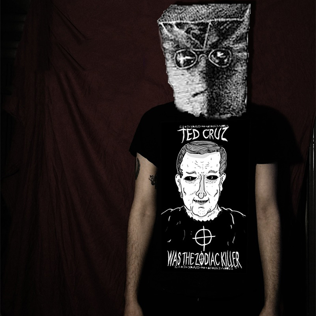 Ted Cruz Zodiac Killer t-shirt