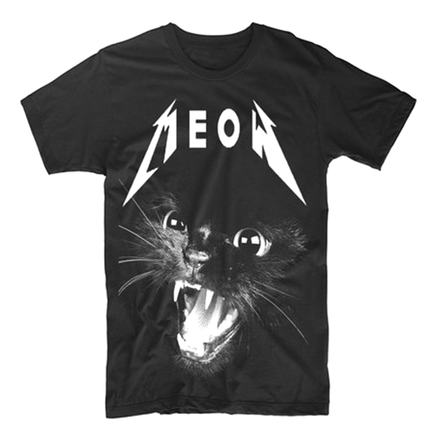 Thrash Metal Black Cat shirt