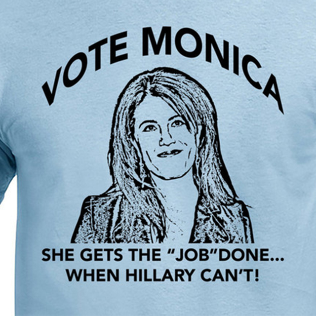 Vote for Monica t-shirt