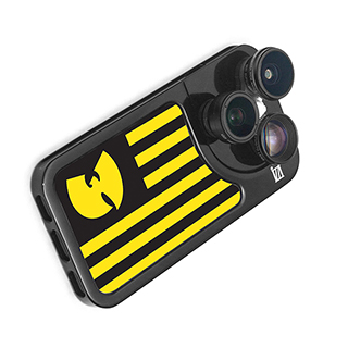Wu-Tang Phone Case with Five Camera Lenses
