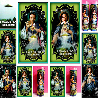 X-Files Prayer Candles