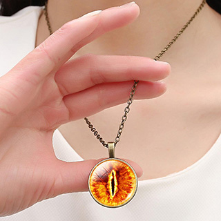 Eye of Sauron Necklace