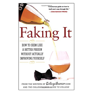 Fake Self Improvement book