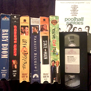 Random Bullshit on VHS (and a DVD)