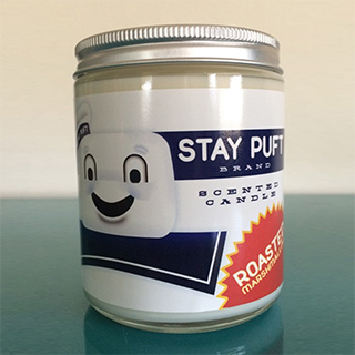 Stay Puft Roasted Marshmallow-Scented Candle