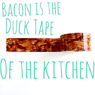 Bacon Print Duct Tape