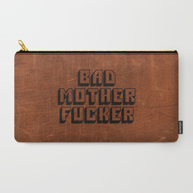 Bad Motherfucker Zippered Pouch