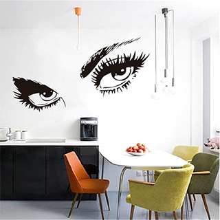 Hepburn Eyes Wall Decal